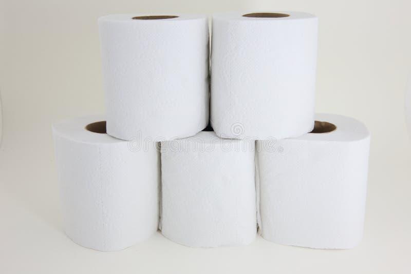 Tkanki na białym tle obrazy stock