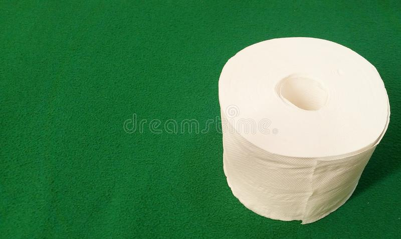 Tkankowego papieru rolka - Akcyjna fotografia obraz royalty free