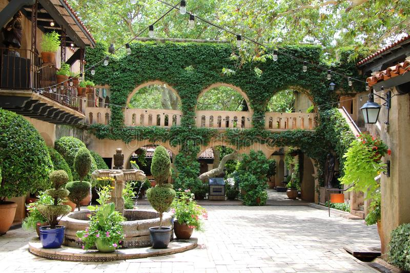 Tlaquepaque in Sedona, Arizona royalty free stock image