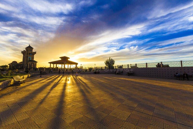 Tlemcen. View of the historical city of Tlemcen, Algeria royalty free stock photography