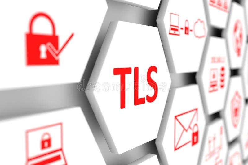 TLS concept vector illustration