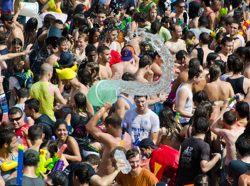 TLV Water war stock photography