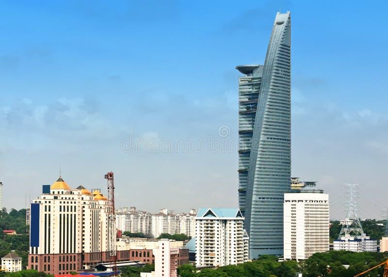 Tm menara de ultra moderne bouw stock afbeelding for Moderne bouw