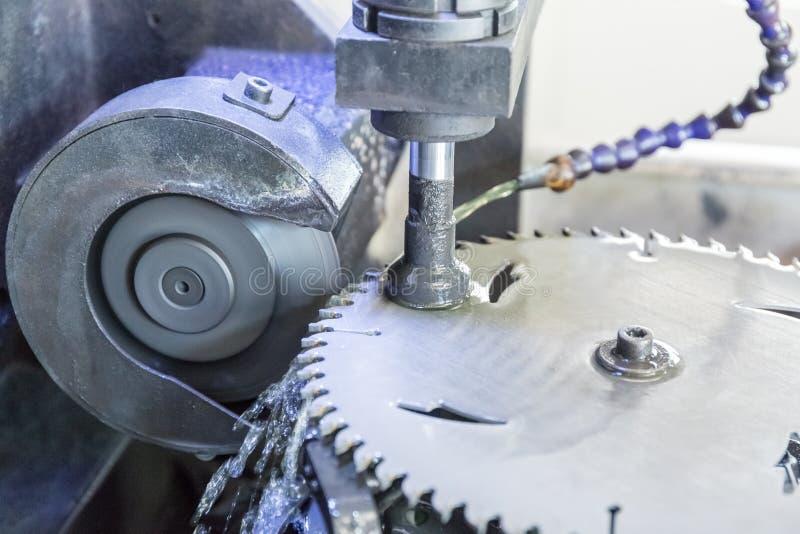 Tnącego narzędzia machining zdjęcie stock