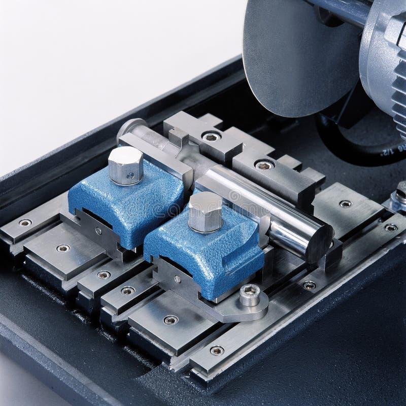 Tnąca maszyna, przemysłowy wyposażenie fotografia royalty free