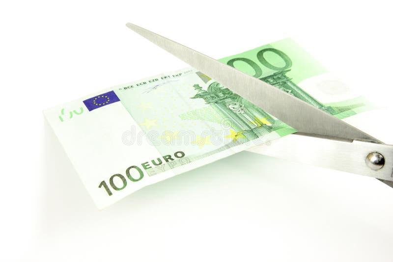 tnący euro obrazy stock