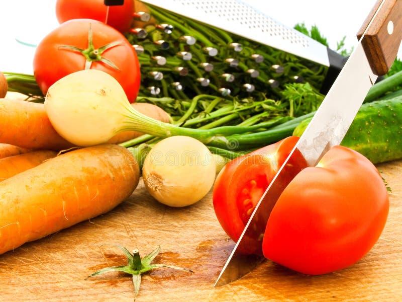 tnący pomidor fotografia royalty free