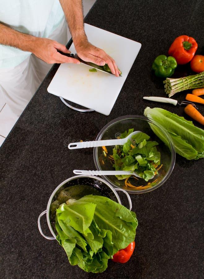 tnący warzywa obraz stock