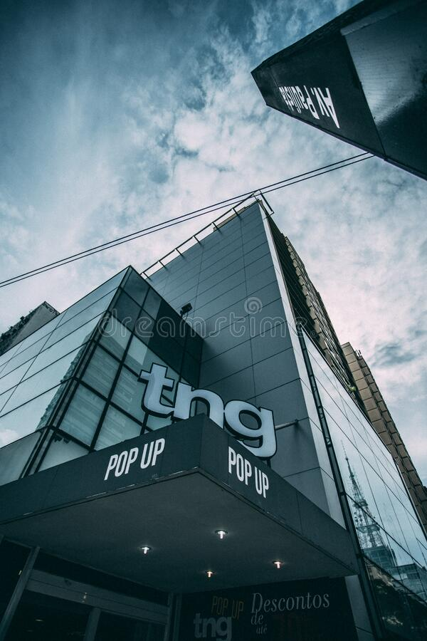 Tn Pop Up Building During Cloudy Sky Free Public Domain Cc0 Image