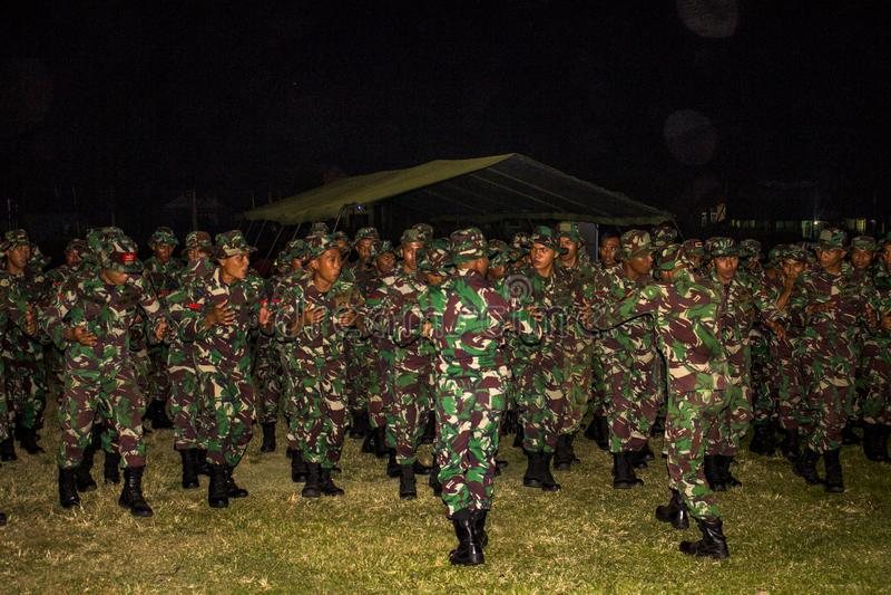 TNI INDONESIAN MILITARY TMMD PROGRAM stock photos
