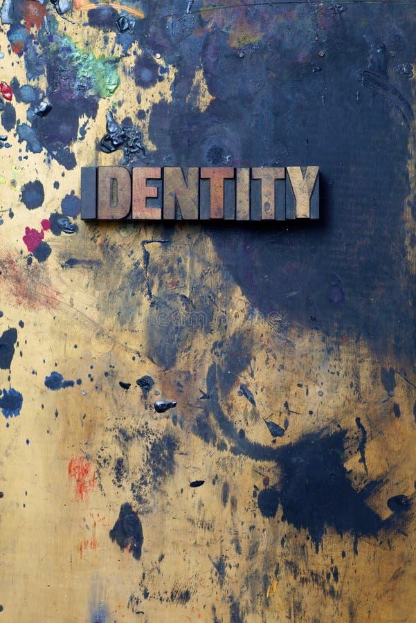 Tożsamość obrazy stock