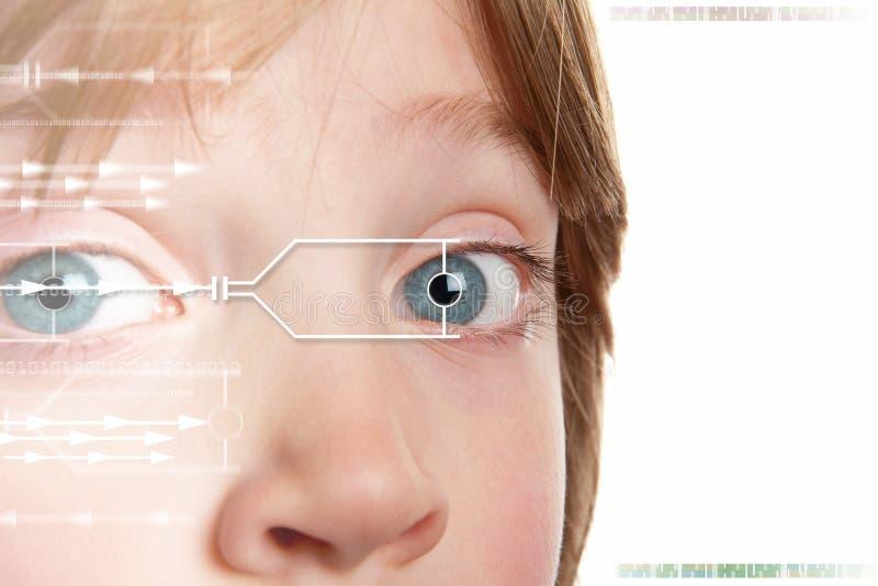 tożsamości irysa obraz cyfrowy zdjęcie royalty free