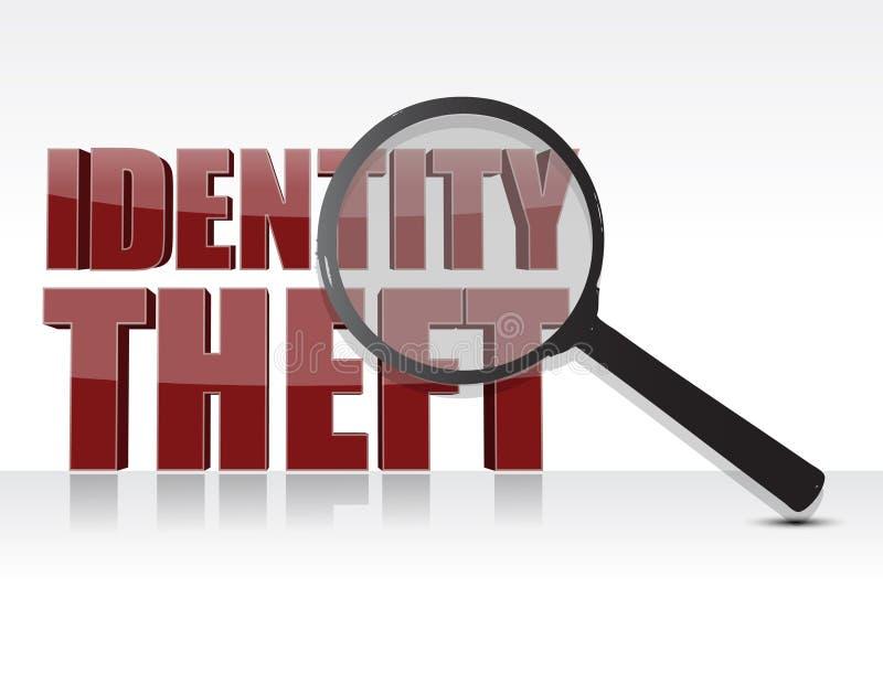 tożsamości kradzież royalty ilustracja