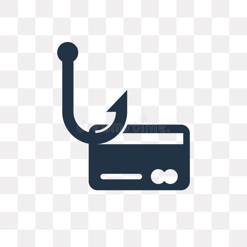 Tożsamości kradzieży wektorowa ikona odizolowywająca na przejrzystym tle, I ilustracja wektor