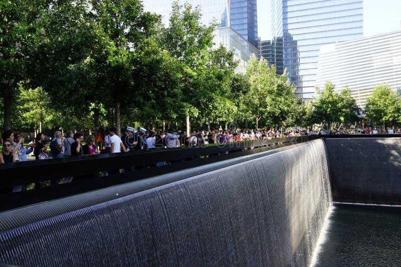 14to aniversario de 9/11 95 imagen de archivo
