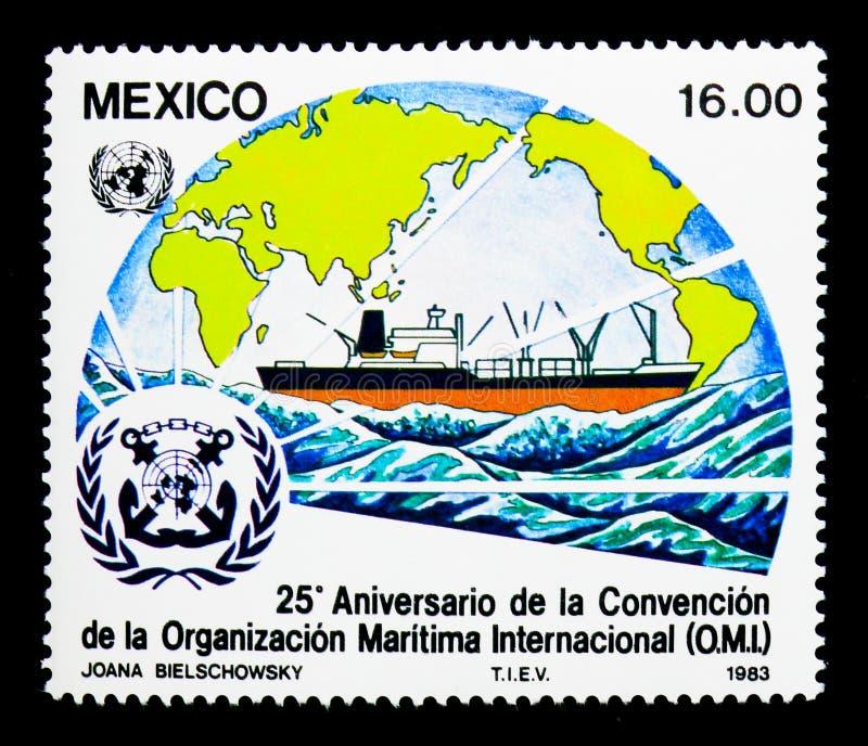25to aniversario del convenio del International marítimo fotografía de archivo