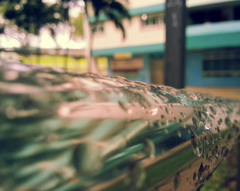 Water By Pole royalty free stock images