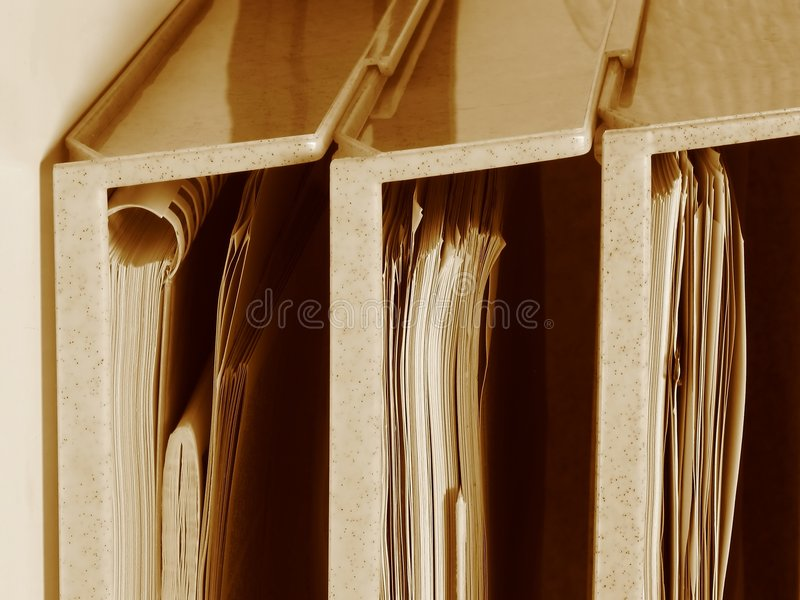 To-do folders stock images