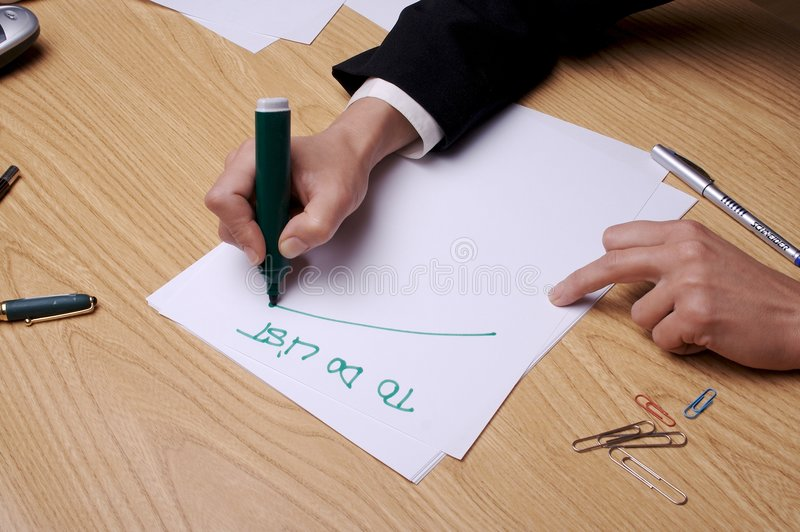 To Do List 1 royalty free stock image