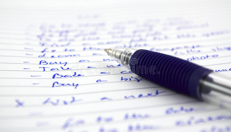 Download To do list stock photo. Image of business, home, plan - 14234904
