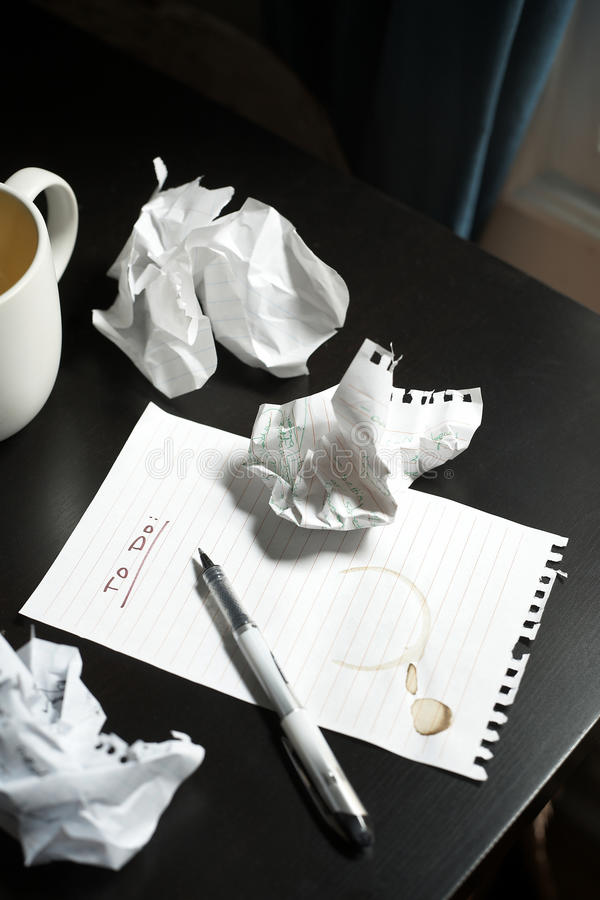 Download To Do List stock photo. Image of reminder, white, stain - 18469300