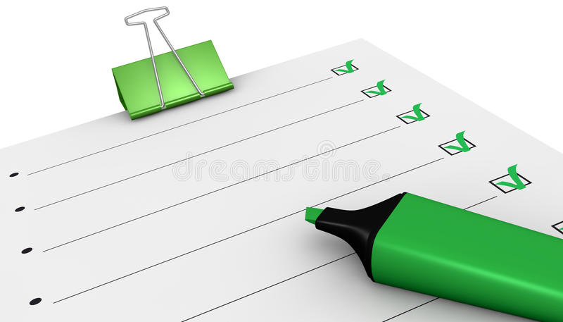 Download To do list stock illustration. Illustration of plan, space - 21246363