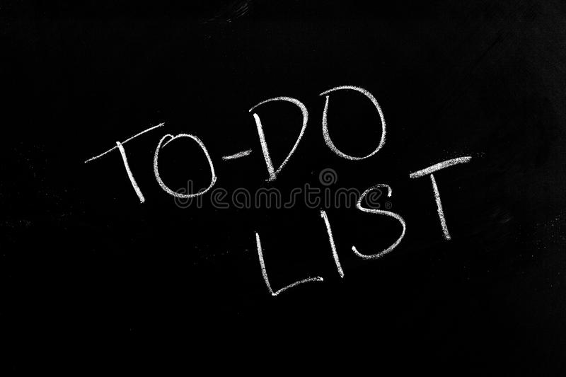 Download To-Do List stock image. Image of plan, do, handwriting - 33490521