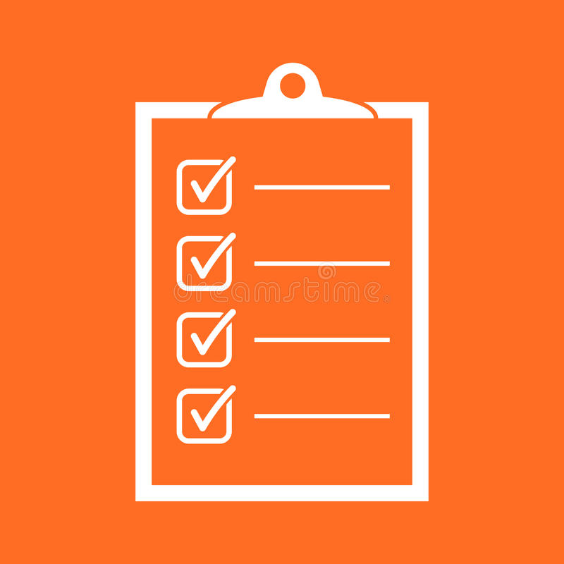 To Do List Icon Checklist Task List Vector Illustration In Fla