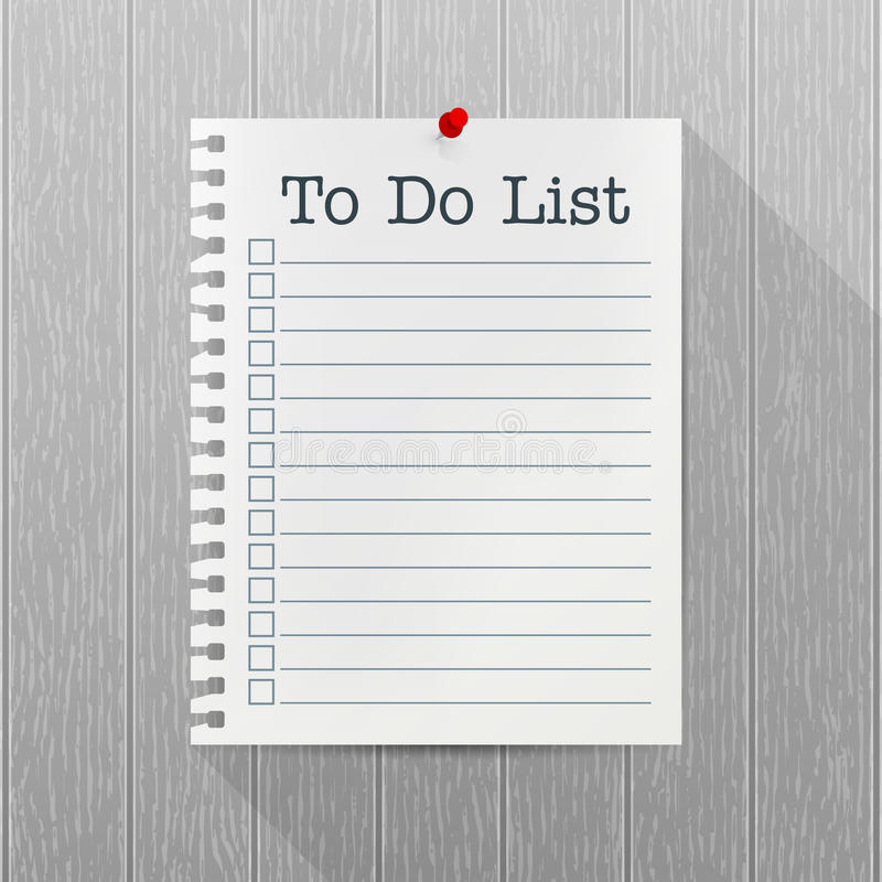 to do list sheets