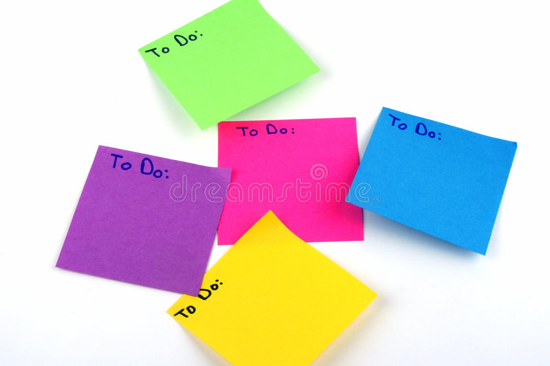 Download To Do Lists stock photo. Image of communication, blank - 1000054
