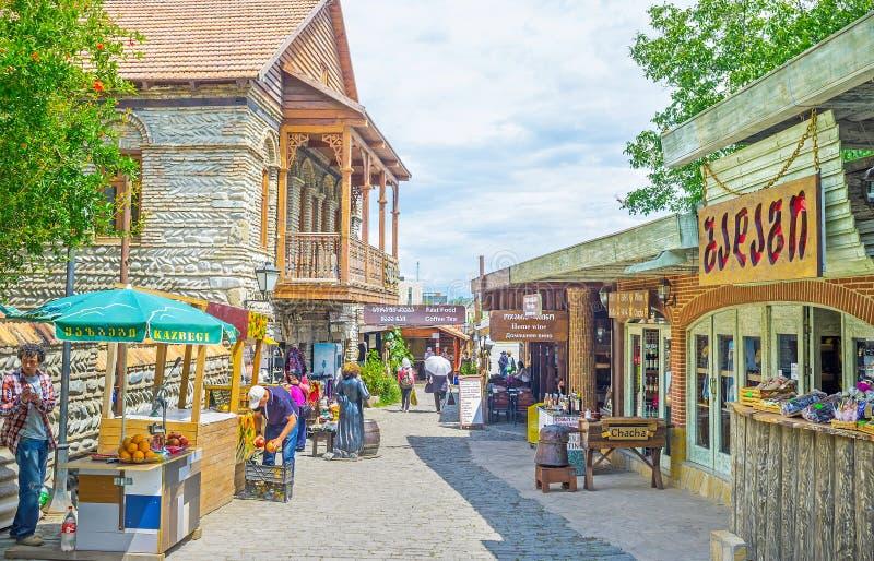 To eat in Mtskheta royalty free stock image