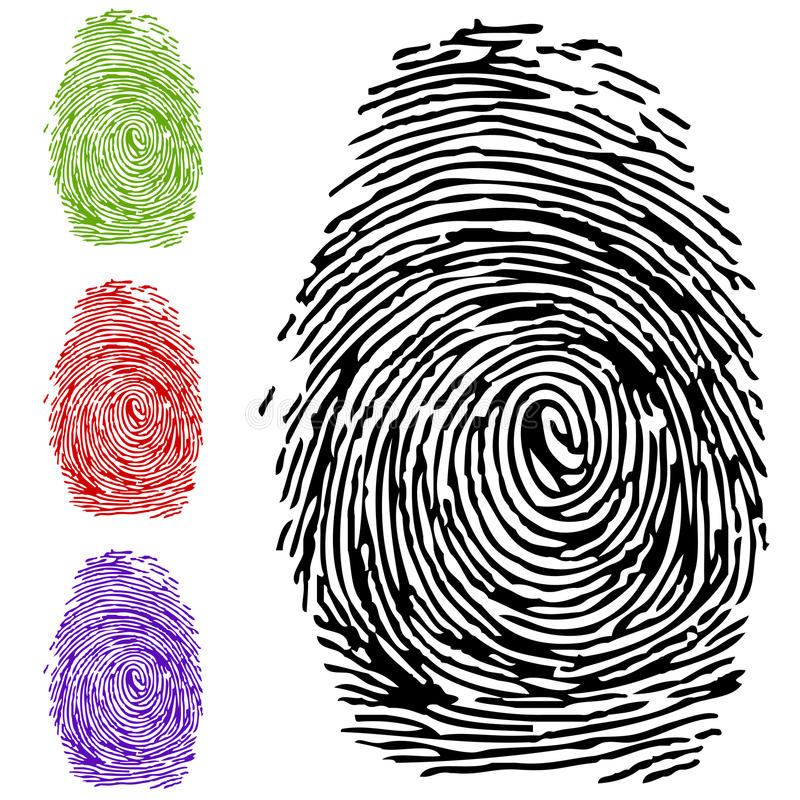 Download To finger-print stock vector. Image of isolate, isolated - 16981568