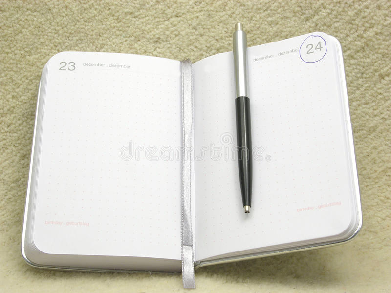 Download To Flip An Appointment Calendar Open Stock Photo - Image of open, christmas: 11083012