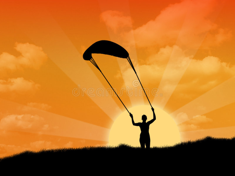 To Fly a Kite royalty free stock photos