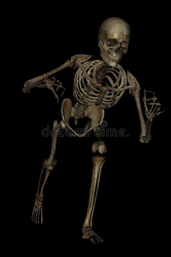 Download To get you stock illustration. Image of skull, pose, bones - 26789696
