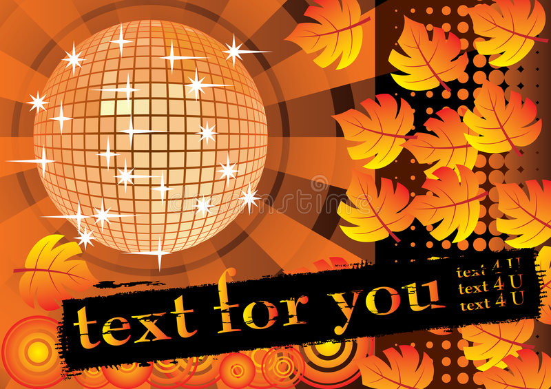 Download To Give A Orange Autumn Party. Stock Photo - Image: 7067470