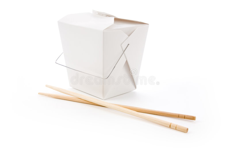 Download To-Go Box stock image. Image of paper, isolated, background - 4142235