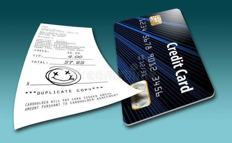 To ilustruje pomysł że wkrótce no wymagają gdziekolwiek dla kredytowej karty transakcj podpisy royalty ilustracja