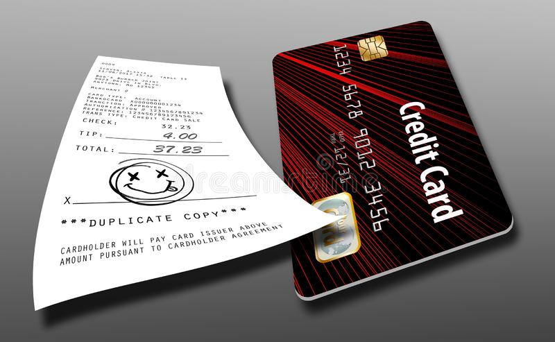 To ilustruje pomysł że wkrótce no wymagają gdziekolwiek dla kredytowej karty transakcj podpisy ilustracji