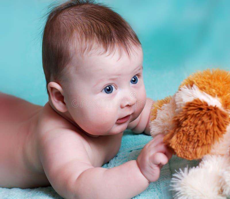 to jak zabawka dla niemowlaków zdjęcie royalty free