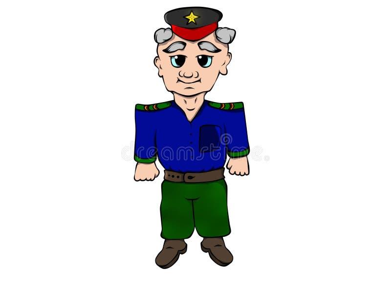 To jest żołnierz, s stayl zdjęcie royalty free