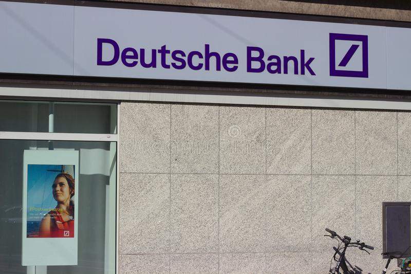 To jest Deutsche Bank zdjęcie stock