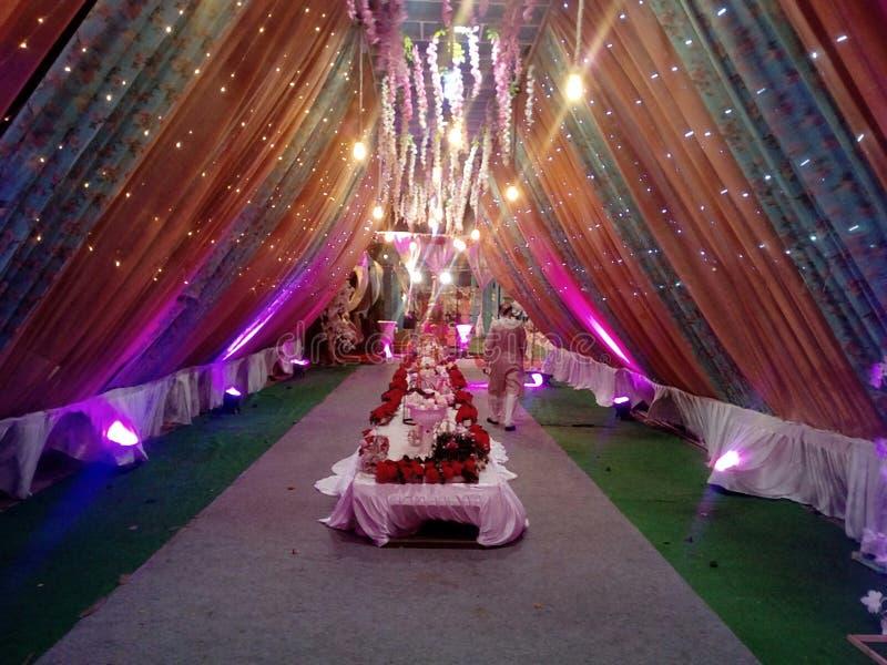 To jest wizerunek który w wiele używał koloru światło ślubna dekoracja obrazy royalty free