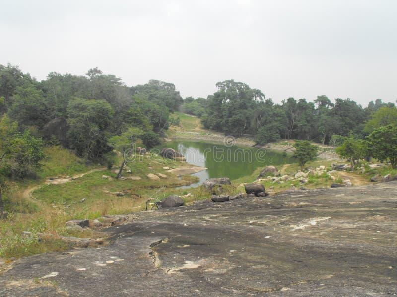 TO JEST wizerunku SRI LANKA PIĘKNY miejsce AMPARA obraz stock