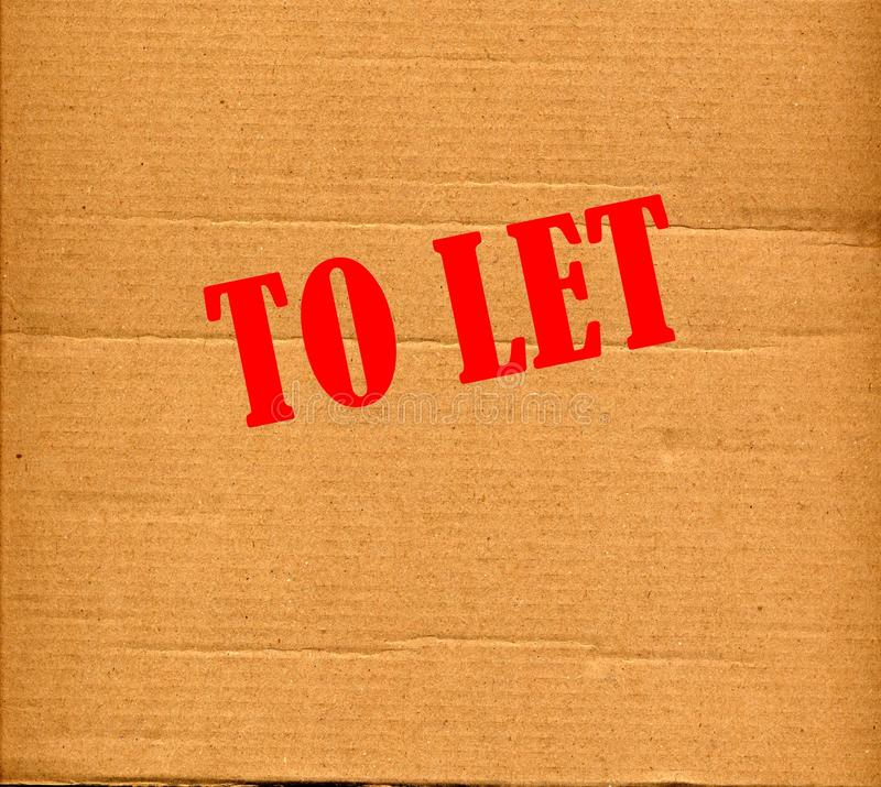 To Let Royalty Free Stock Image
