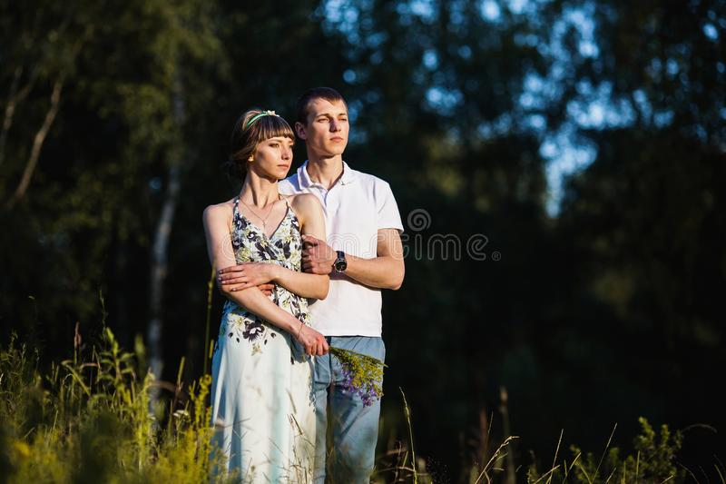 To love each other stock images