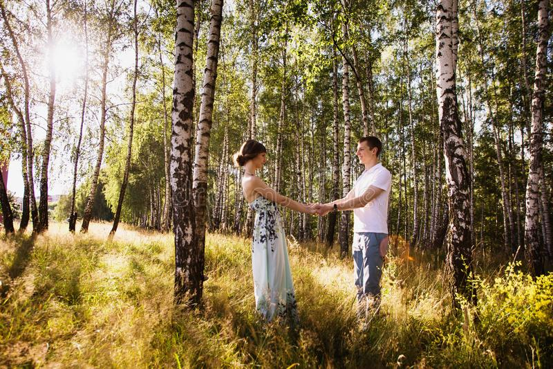 To love each other royalty free stock photography