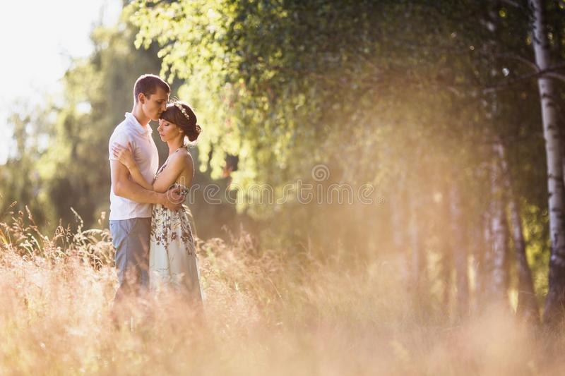 To love each other royalty free stock image