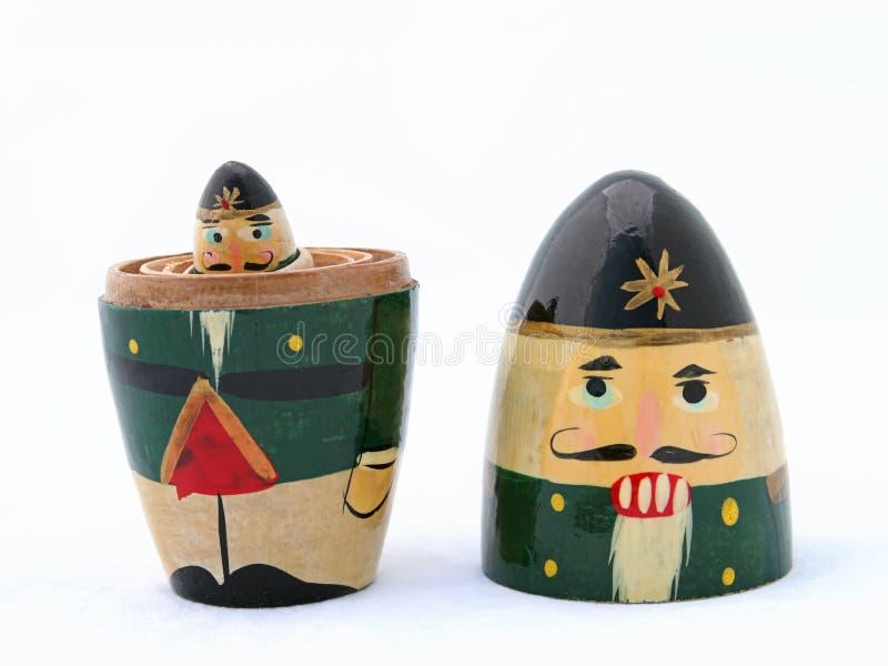 Download To Mini Dziadka Do Orzechów Obraz Stock - Obraz złożonej z nutcracker, wakacje: 128505