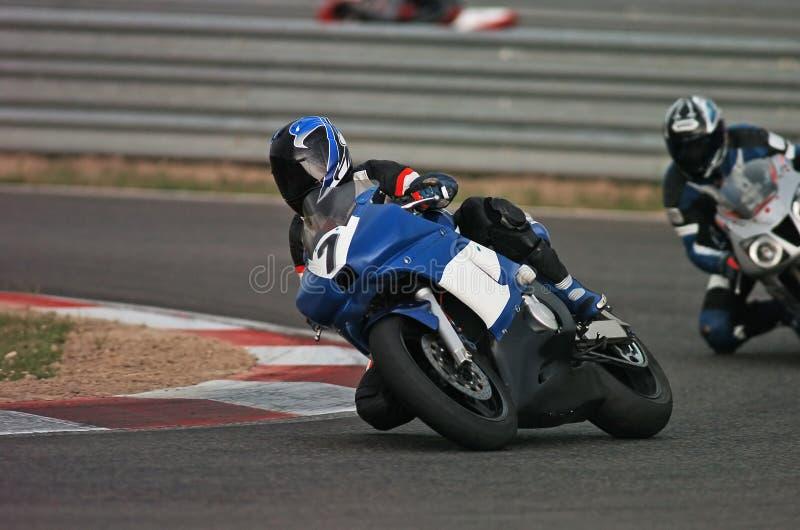 to motocykl wyścigi zdjęcie royalty free
